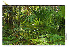 Pine And Palmetto Woods Filtered Carry-all Pouch