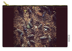 Pine Cones And Patterns Carry-all Pouch
