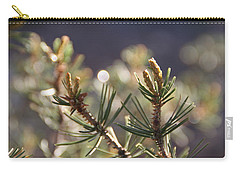 Carry-all Pouch featuring the photograph Pine by David S Reynolds