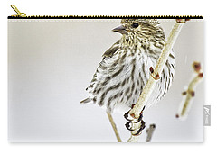 Pine Siskin Carry-all Pouch