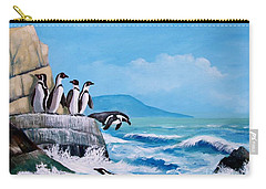 Pinguinos De Humboldt Carry-all Pouch