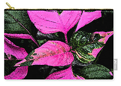Carry-all Pouch featuring the photograph Pink And Green by Aimee L Maher Photography and Art Visit ALMGallerydotcom