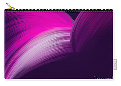 Pink And Purple Curves Carry-all Pouch