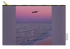 Pink Beach Sunset Carry-all Pouch