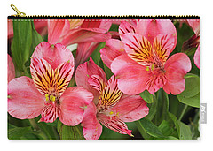Carry-all Pouch featuring the photograph Pink Beauty by E Faithe Lester