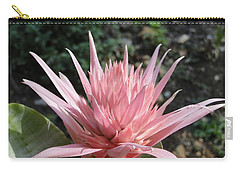 Pink Bromeliad  Bloom Carry-all Pouch