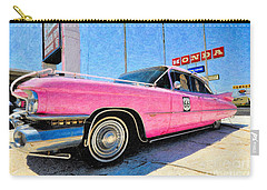 Pink Cadillac Carry-all Pouch by Liane Wright