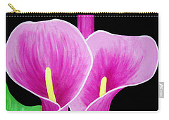 Pink Calla Lillies 2 Carry-all Pouch