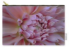 Pink Dahlia Carry-all Pouch by Jacqui Boonstra