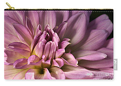 Pink Dahlia's Dream Carry-all Pouch by Joy Watson
