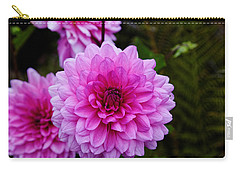 Pink Dahlias Carry-all Pouch