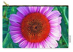 Pink Daisy By Jan Marvin Carry-all Pouch