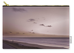 Carry-all Pouch featuring the photograph Pink Dawn by Judy Hall-Folde