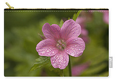 Pink Droplets Carry-all Pouch