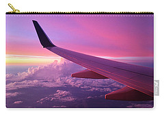 Pink Flight Carry-all Pouch by Chad Dutson