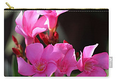 Carry-all Pouch featuring the photograph Pink Flower  by Ramabhadran Thirupattur