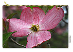 Pink Flowering Dogwood Carry-all Pouch