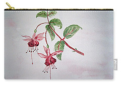 Pink Fuchsia's  Carry-all Pouch