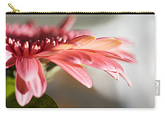 Carry-all Pouch featuring the photograph Pink Gerber Daisy by Marilyn Hunt