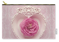 Pink Heart - Pink Camellia Carry-all Pouch