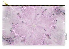 Pink Hibiscus Carry-all Pouch by Victoria Harrington