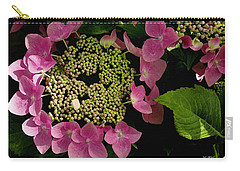 Carry-all Pouch featuring the photograph Pink Hydrangea by James C Thomas