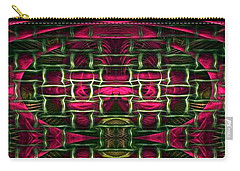 Carry-all Pouch featuring the painting Pink Illusion by Rafael Salazar