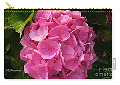 Carry-all Pouch featuring the photograph Blushing Rose by Jeannie Rhode
