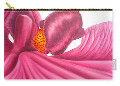 Pink Lady Square Dance Carry-all Pouch by Darren Robinson