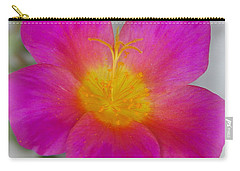 Pink Moss Rose 1 Carry-all Pouch