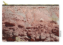 Pink Mountainside Texture Carry-all Pouch