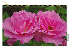 Carry-all Pouch featuring the photograph Pink Passion by James C Thomas