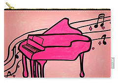 Pink Piano Carry-all Pouch