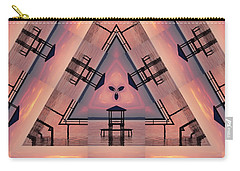 Pink Pier Kaleidoscope Two  Carry-all Pouch