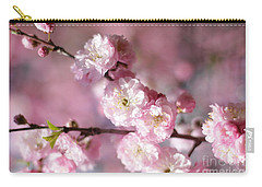 Pink Plum Branch 1 Carry-all Pouch