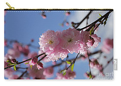Pink Plum On Sky 2 Carry-all Pouch