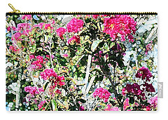 Pink Profusion Carry-all Pouch by Ellen O'Reilly