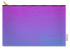 Pink Purple Blue Carry-all Pouch