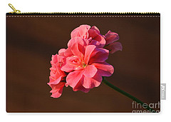 Carry-all Pouch featuring the photograph Pink by Ramona Matei
