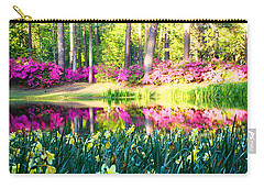 Pink Reflections By Jan Marvin Carry-all Pouch