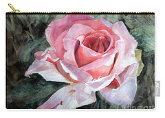 Pink Rose Greg Carry-all Pouch