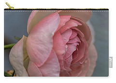 Carry-all Pouch featuring the photograph Pink Rose by Leif Sohlman