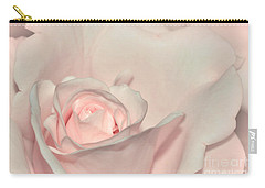 Pink Satin Carry-all Pouch by Kaye Menner