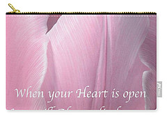 Pink Spring Tulip Carry-all Pouch
