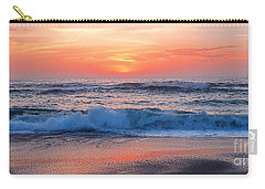 Pink Sunrise Panorama Carry-all Pouch by Kaye Menner
