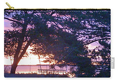 Carry-all Pouch featuring the photograph Pink Sunrise by Rogerio Mariani