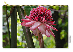 Pink Torch Ginger Carry-all Pouch