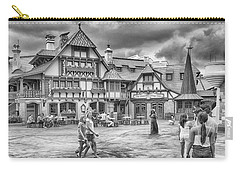 Carry-all Pouch featuring the photograph Pinocchio's Village Haus by Howard Salmon