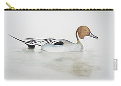 Pintail Duck Carry-all Pouch by Ele Grafton