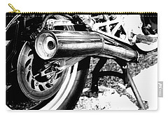 Pipe Black And White Carry-all Pouch